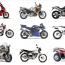 Tipos de motocicletas